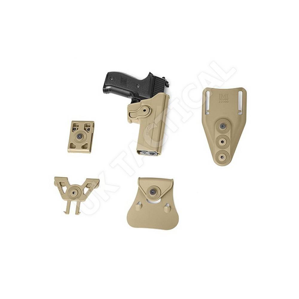 IMI Rotating Holster Glock 17 Tan