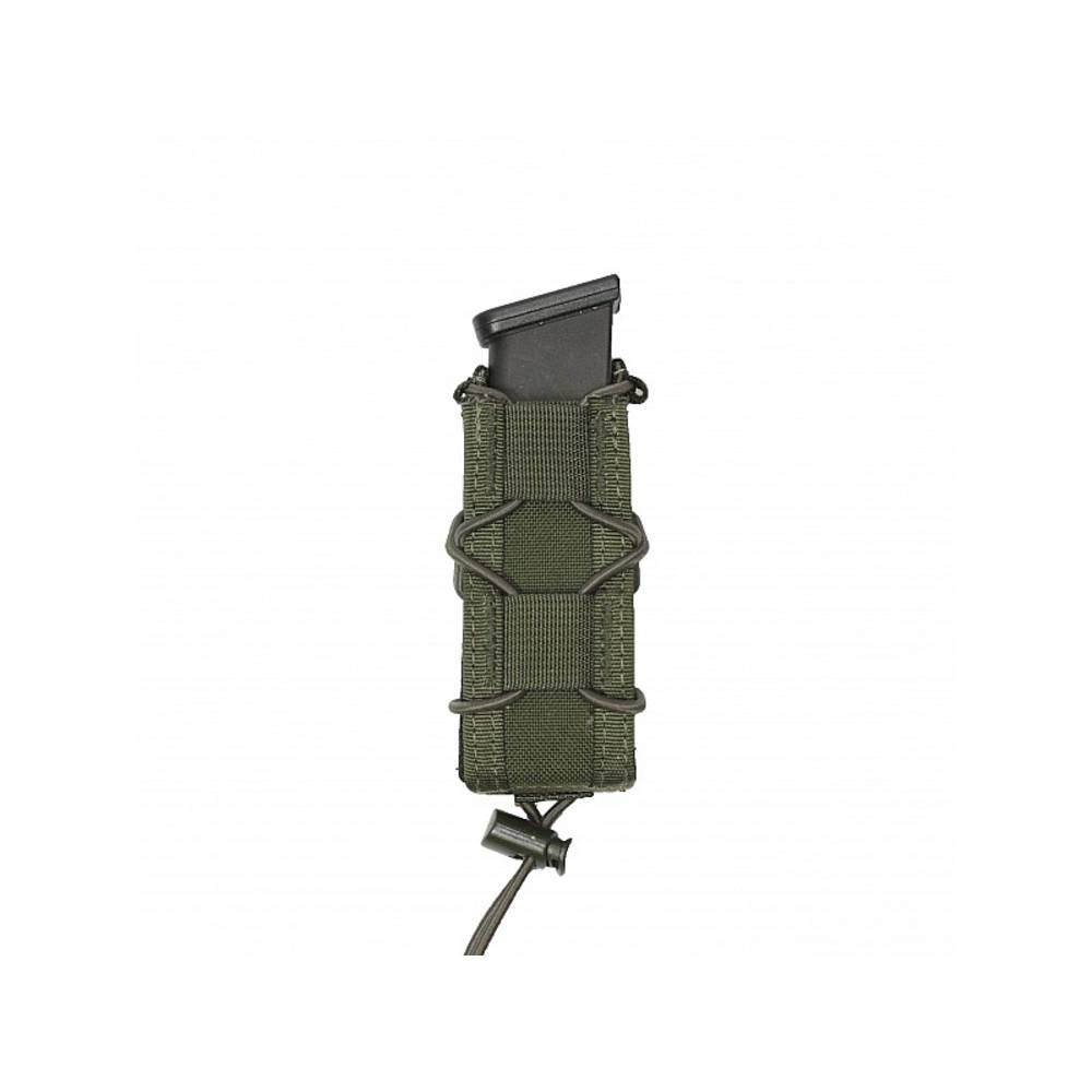 Warrior Single Quick Mag for 9mm Pistol Olive Drab