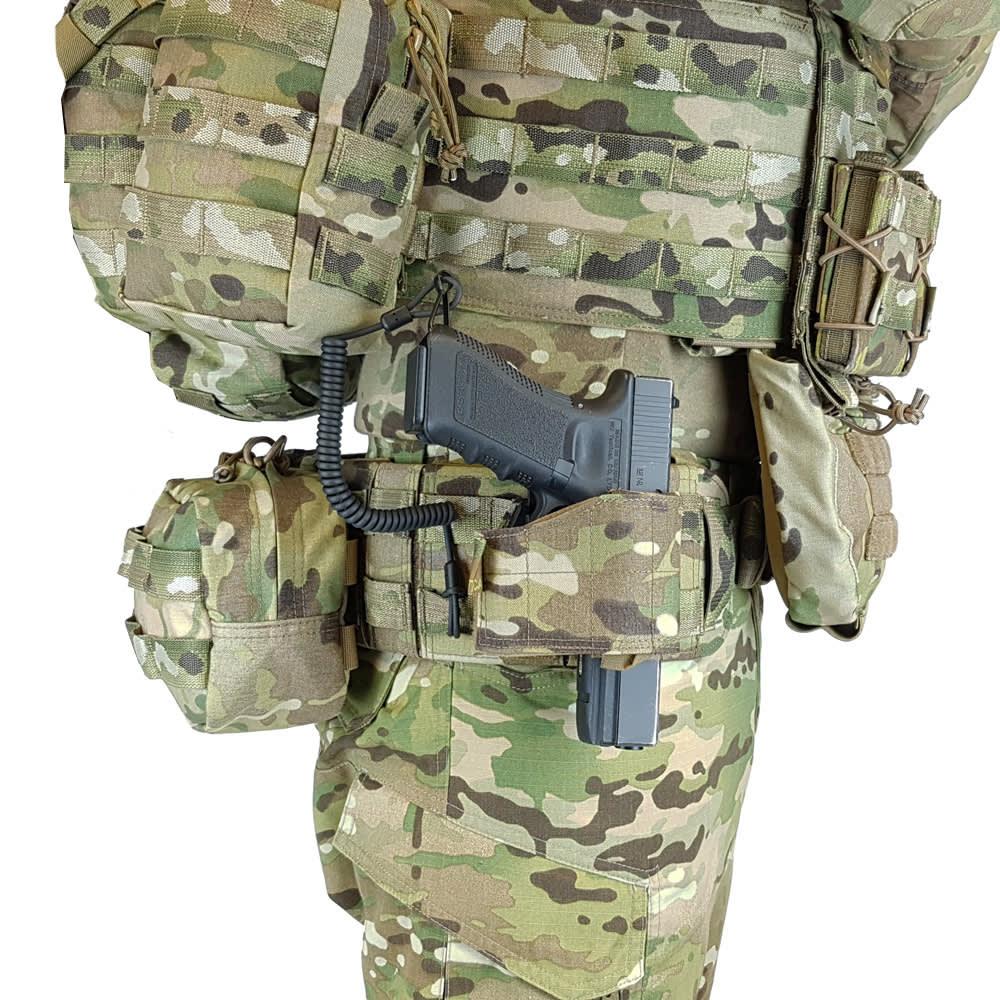 Warrior Assault Systems Kevlar Sidearm Retention Lanyard