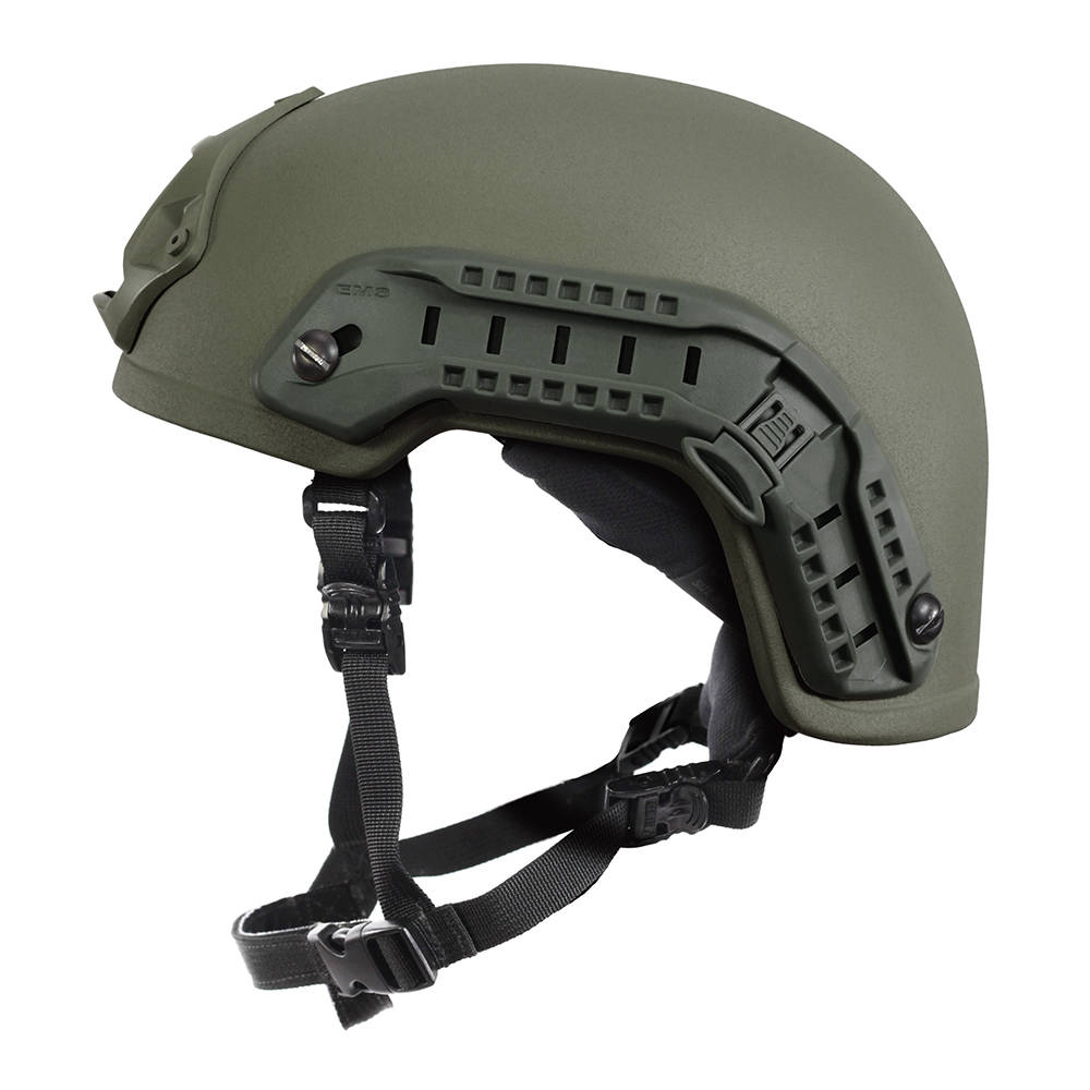 Nexus SF M3 Helmet with Rails, NVG Shroud, BOA Dialler OD Green, Size Large