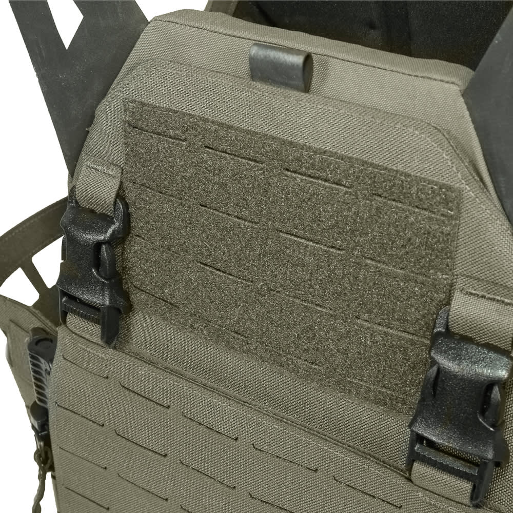 Warrior Laser Cut Low Profile Carrier V2 With ladder Sides Ranger Green