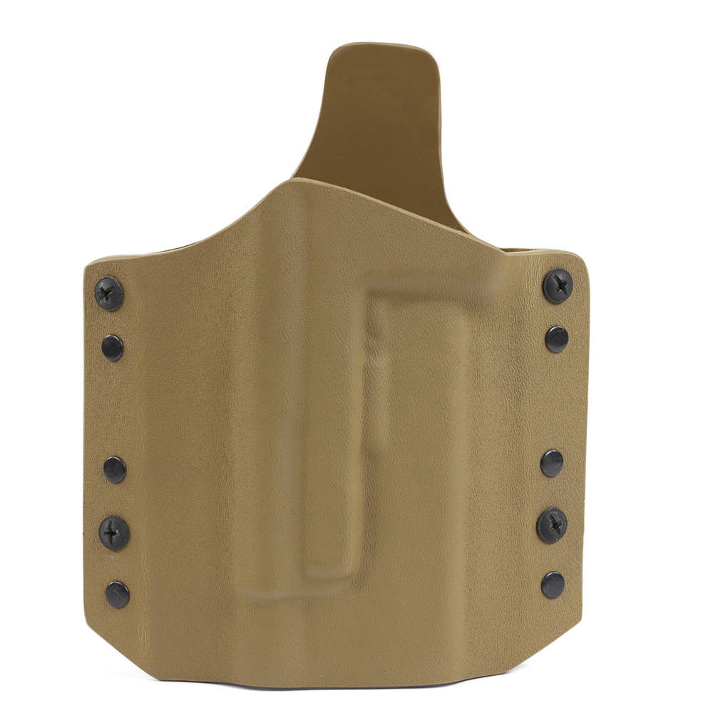 ARES Kydex Holster Glock-17/19 TLR-1/TLR-2 Weapon Lights - Coyote Tan