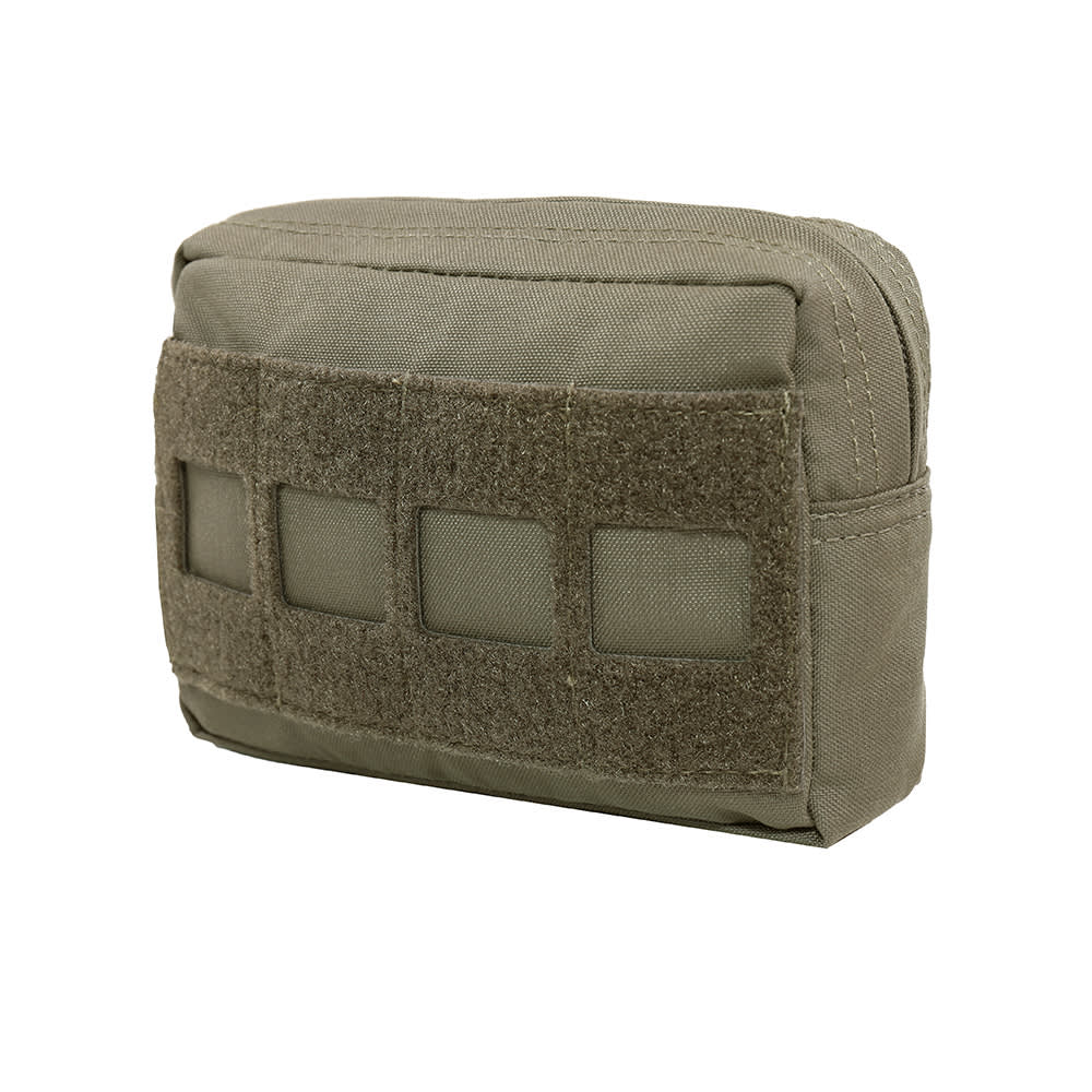 Warrior Laser Cut Small Horizontal Utility Pouch Ranger Green