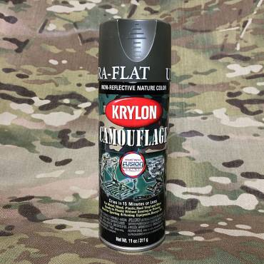 Krylon Camoflage Spray Paint Olive
