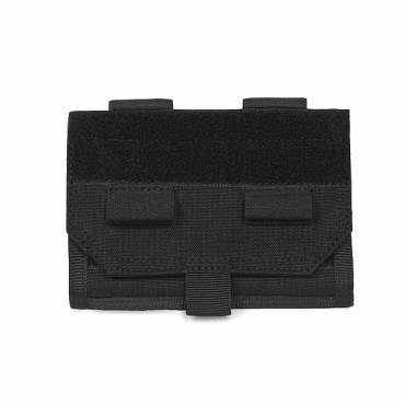 Warrior Forward Opening Admin Pouch Black