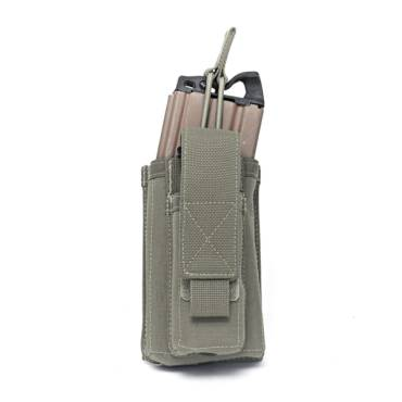 Warrior Single 5.56mm/9mm Mag Pouch Ranger Green