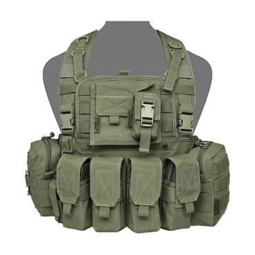 Warrior 901 Bravo M4 with Zip Olive Drab