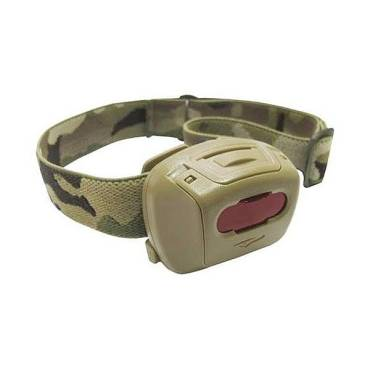 Princeton Tec Quad Tac MPLS Tan with MultiCam Strap and RBG LED