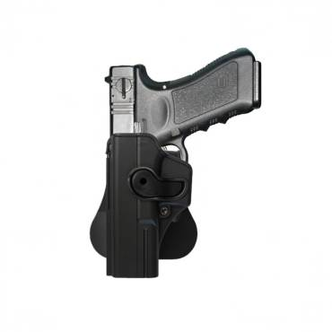 IMI Rotating Holster Left Hand Glock 17 Black