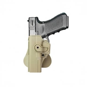 IMI Rotating Holster Left Hand Glock 17 Tan