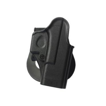 IMI One Piece Polymer Holster Glock 1 Black