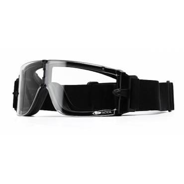 Bolle X800 Ventilated Ballistic Goggles Clear Lens, Black Frame