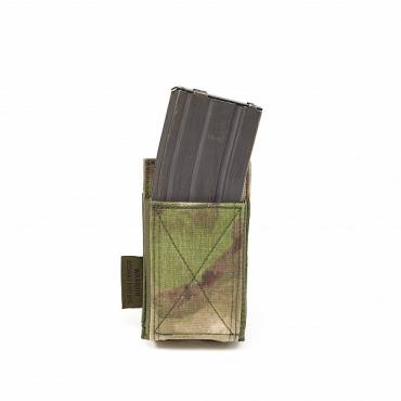 Warrior Single Elastic Mag Pouch A-TACS FG