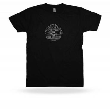 Crye Precision Made in Brooklyn T-Shirt Short Sleeved Black