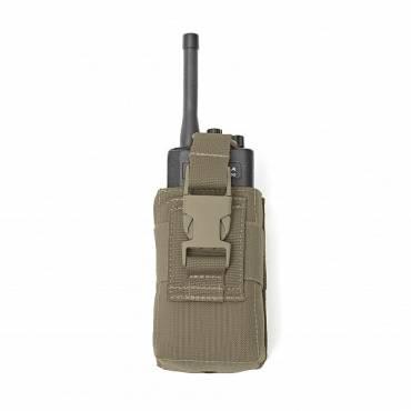 Warrior Adjustable Radio Pouch Ranger Green