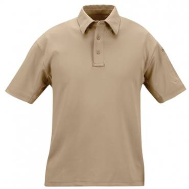 Propper I.C.E. Mens Performance Polo Short Sleeve Silver Tan