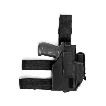 Warrior Drop Leg Holster Black