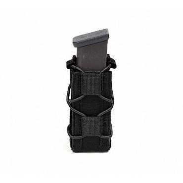 Warrior Single Quick Mag for 9mm Pistol Black