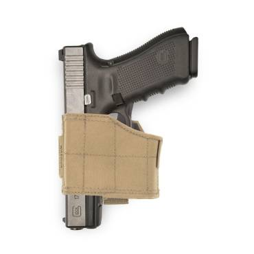 Warrior Universal Pistol Holster Left Hand Coyote Tan