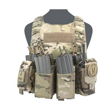 Warrior Covert Plate Carrier - Pathfinder Chest Rig Combo MultiCam