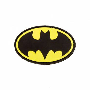 Batman Rubber Velcro Patch