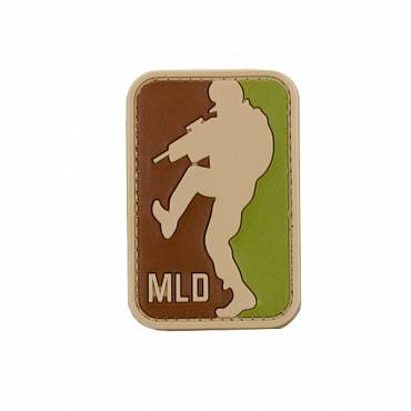 Major League Door  Kickers Rubber Velcro Patch
