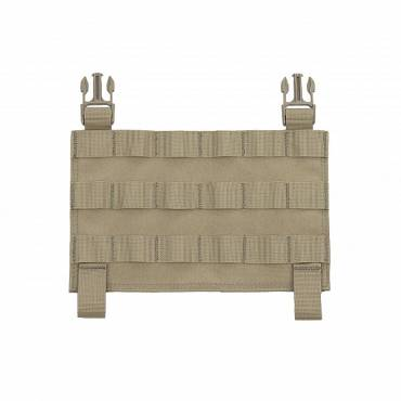 Warrior MOLLE Front Panel for Recon Plate Carrier Coyote Tan