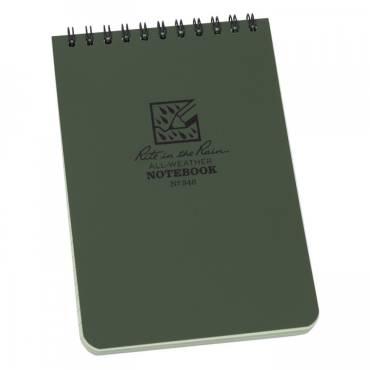 """Rite In The Rain Pocket Notebook Spiral Bound 4""""X6"""""""