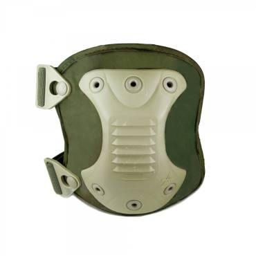 Source Knee Pads (Pair) With Carry Bag Olive