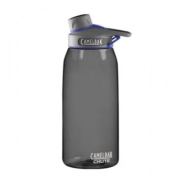 Camelbak Chute 1ltre Water Bottle for Rapid Hydration-Charcoal