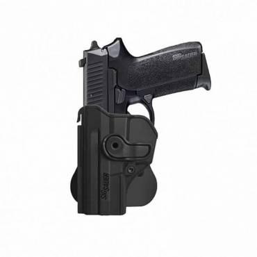 IMI Z1290 Plastic Holster Left Hand SIG Sauer SP2022/SP2009 Black