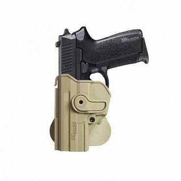IMI Z1290 Plastic Holster Left Hand SIG Sauer SP2022/SP2009 Tan