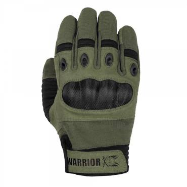 Warrior Omega Hard Knuckle Glove Olive