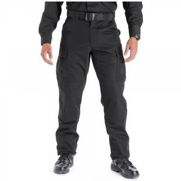 5.11 TDU Pants / Trousers With Ripstop Fabric Black