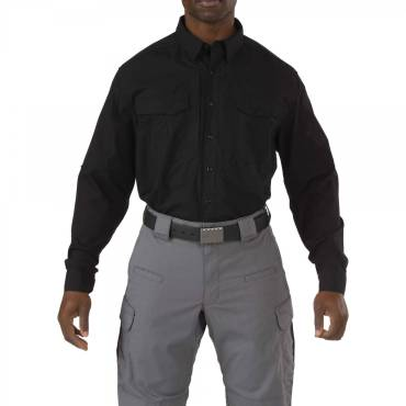 5.11 Stryke Shirt Long Sleeve Black