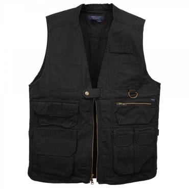 5.11 Tactical Vest With 17 Pockets - Black