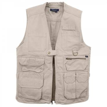5.11 Tactical Vest With 17 Pockets - Khaki