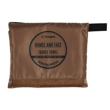 Snugpak Hand and Face Towel Tan