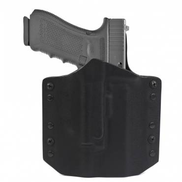 ARES Kydex Holster Glock-17/19 x300/X400 WEapon Lights - Black