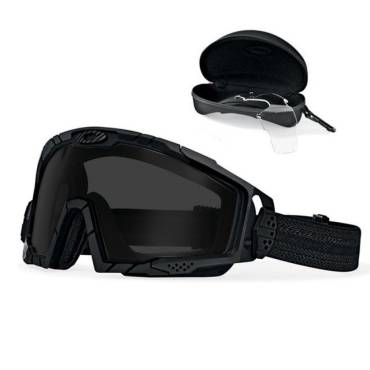 fb914e8530f Oakley SI Balistic Goggle 2.0 Black Array Clr Gry