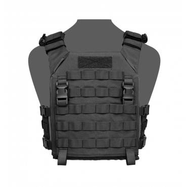 Warrior Recon Plate Carrier SAPI Black