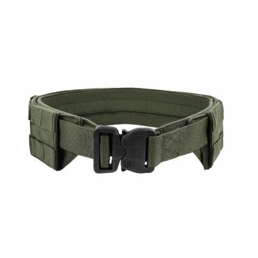 Warrior Low Profile MOLLE Belt OD Green with Polymer Cobra Belt