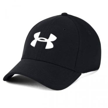 Under Armour 5036 Blitzing 3.0 Stretch fit Cap Black White