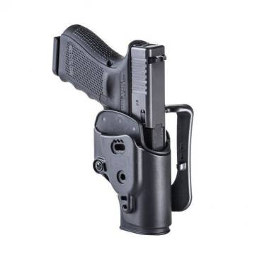 CAA AHSGL1/01 Ambidextrous Inner & Outer Holster for Glock 17,18,19,22,23,25,31,32 Black