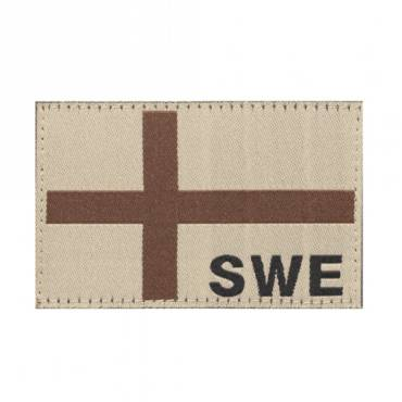 Clawgear Sweden Flag Patch Desert 20986
