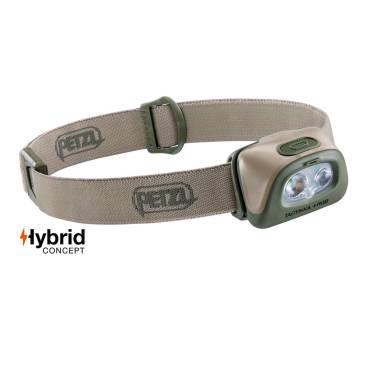 Petzl Tactikka + RGB 350 Lumen Headlamp Desert
