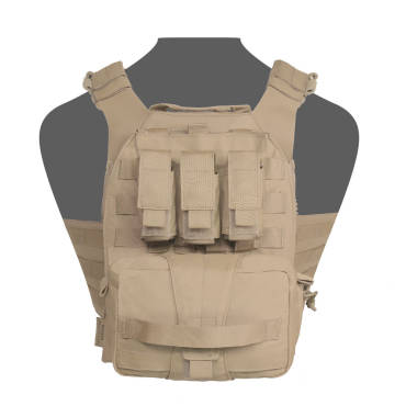 Warrior Assaulters Back Panel Coyote Tan