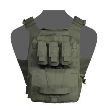 Warrior Assaulters Back Panel OD Green