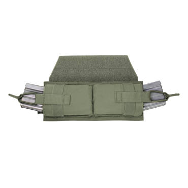 Warrior Horizontal Velcro MOLLE Panel OD Green