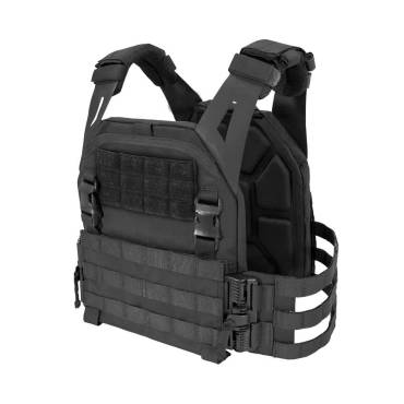 Warrior Low Profile Carrier V2 with Ladder Sides Black